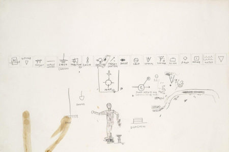 Jean-Michel Basquiat-Sans Titre (Elements)-