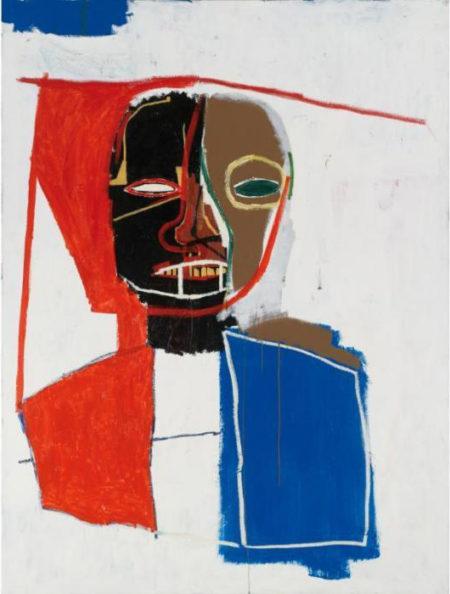 Jean-Michel Basquiat-Sans Titre (France Torso)-1983