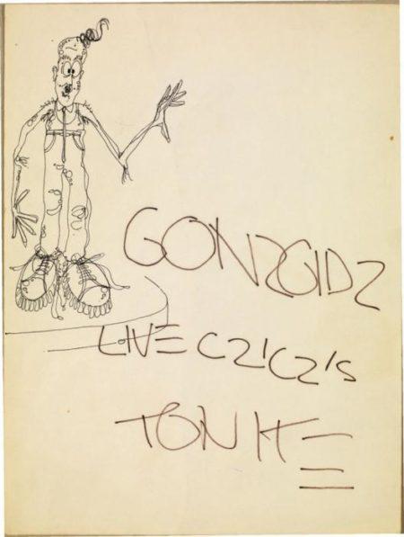 Jean-Michel Basquiat-Sans Titre (Gonzgidz....)-