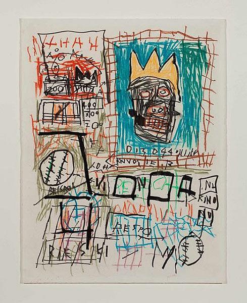 Jean-Michel Basquiat-Sans titre Beisbol-1981