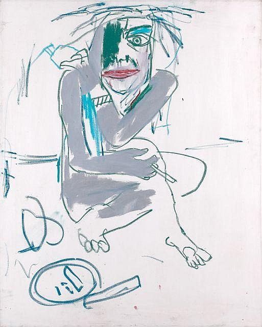 Jean-Michel Basquiat-Sans titre (Call Girl)-1983