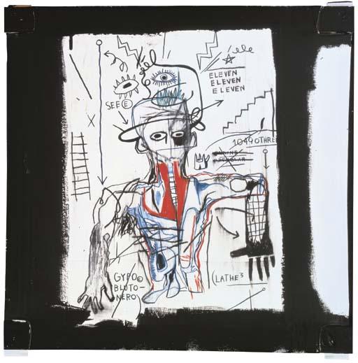 Jean-Michel Basquiat-Santo #1-1982