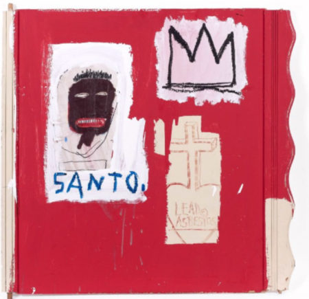 Jean-Michel Basquiat-Santo-1985