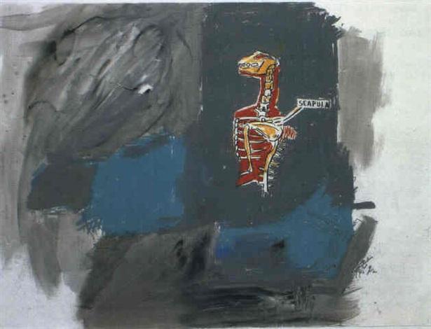 Jean-Michel Basquiat-Scapula-1983