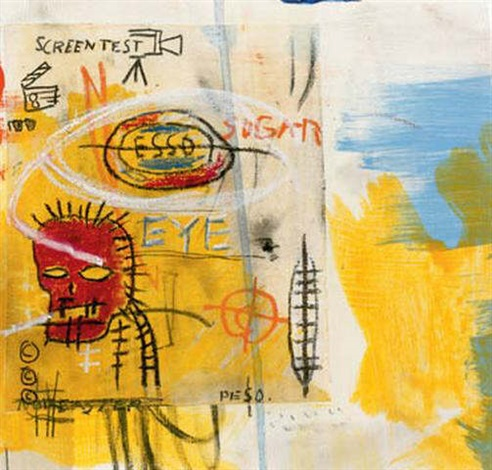 Jean-Michel Basquiat-Screen Test-1987