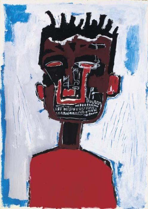 Jean-Michel Basquiat-Self-Portrait (Eye Bleed)-1984