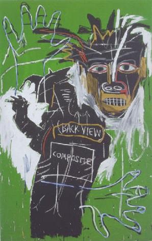Jean-Michel Basquiat-Self Portrait as a Heel-Part Two-1982