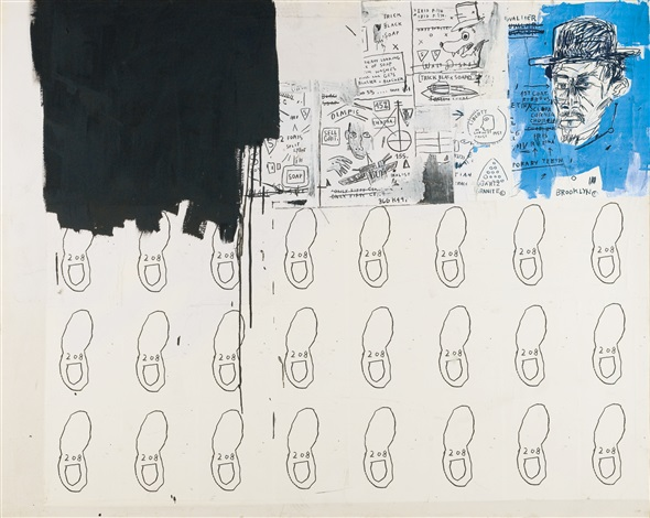 Jean-Michel Basquiat-Sell Grit-1983