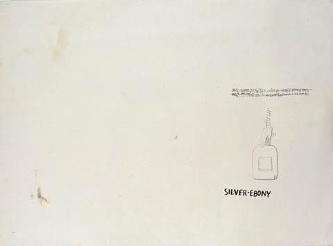 Jean-Michel Basquiat-Silver-Ebony-1981