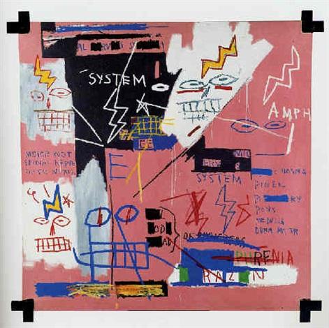 Jean-Michel Basquiat-Six-Fifty-
