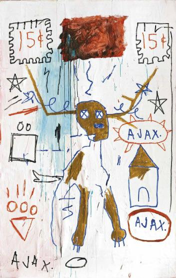Jean-Michel Basquiat-Slide Germ-1982