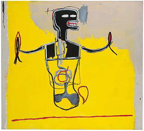 Jean-Michel Basquiat-Spike-1984