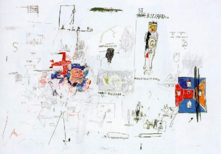 Jean-Michel Basquiat-St. Buzzard-1985