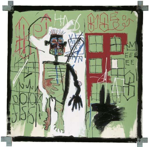 Jean-Michel Basquiat-Stroll-1982