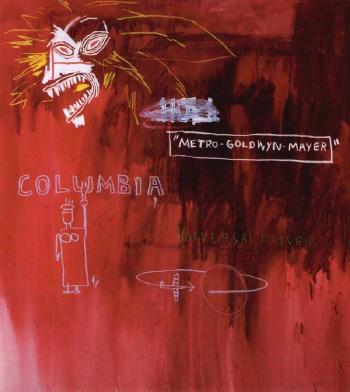 Jean-Michel Basquiat-Studio Studios-1983
