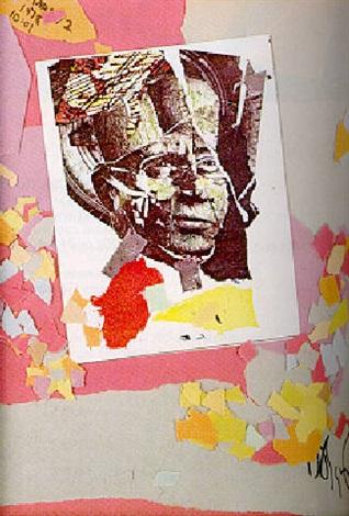 Jean-Michel Basquiat-Tete Et Confetti-1978