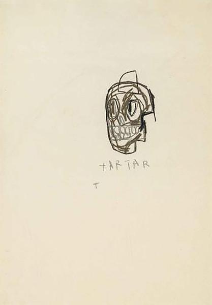 Jean-Michel Basquiat-Tartar-1982