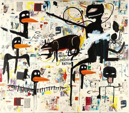 Jean-Michel Basquiat-Tenor-1985
