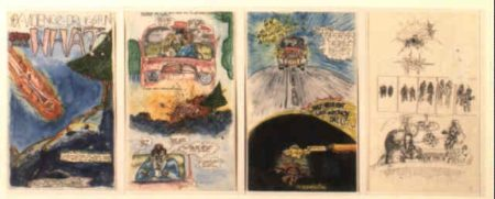 Jean-Michel Basquiat-The Comic Book-1978