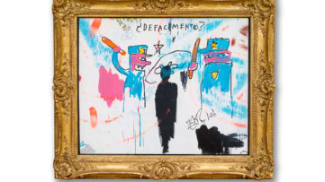 Jean-Michel Basquiat - The Death of Michael Stewart, 1983