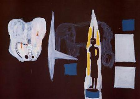 Jean-Michel Basquiat-The Elephant-1986