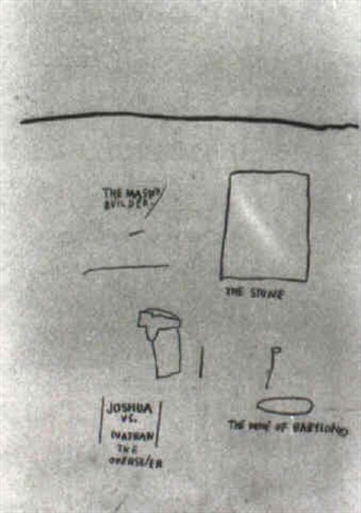 Jean-Michel Basquiat-The Master Builder-1986
