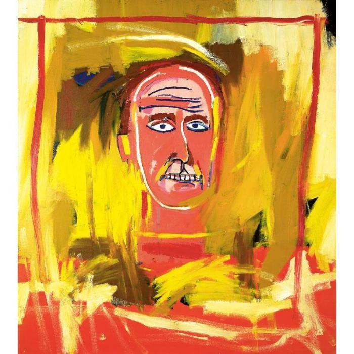 Jean-Michel Basquiat-The White Man-1984
