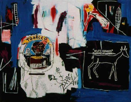 Jean-Michel Basquiat-Thin Foil-1984