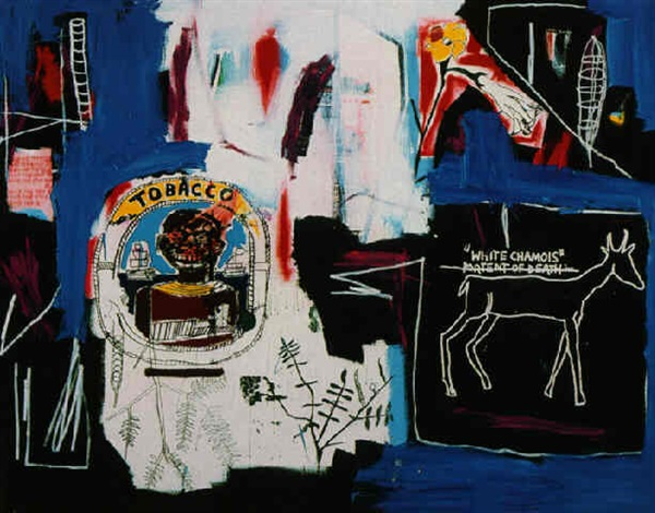 Jean-Michel Basquiat-Thin Foil-1984