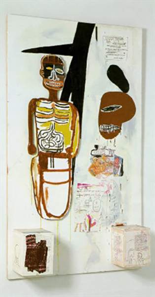 Jean-Michel Basquiat-Thin In The Old-1986