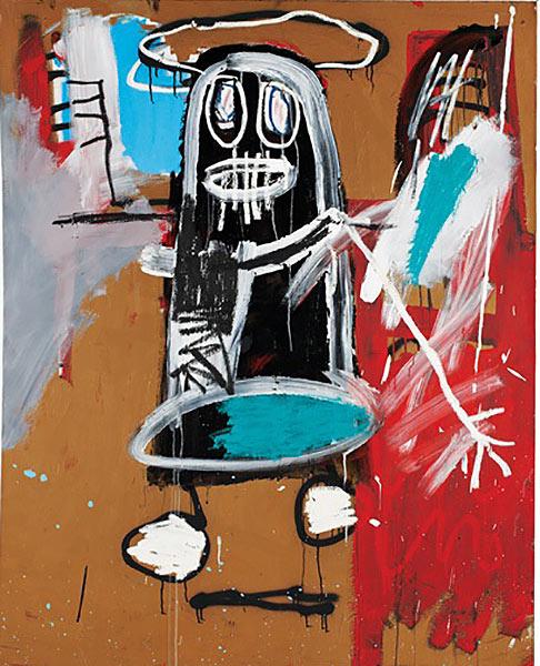 Jean-Michel Basquiat-Thirty-sixth Figure-1983