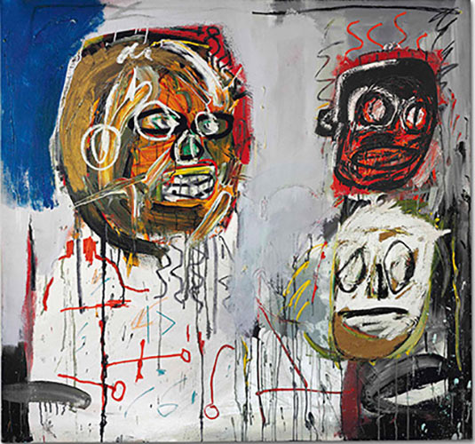 Jean-Michel Basquiat-Three Delegates-1982