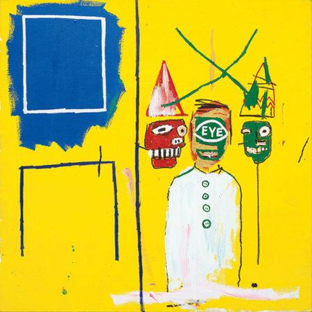 Jean-Michel Basquiat-Three Pontificators-1984