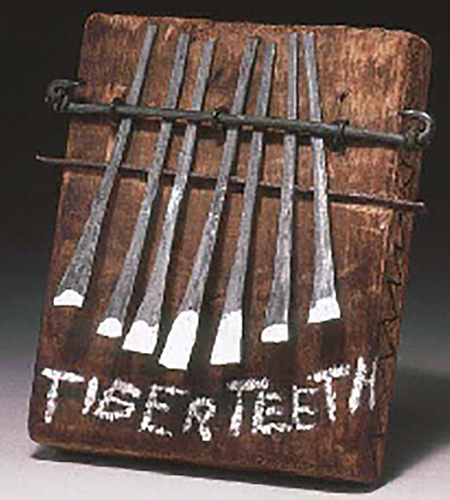 Jean-Michel Basquiat-Tiger Teeth-1988