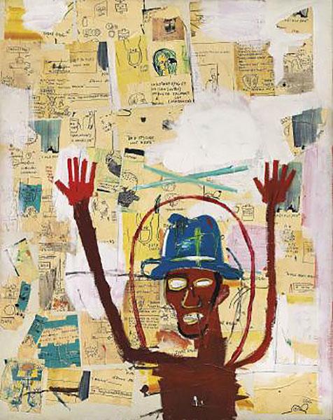 Jean-Michel Basquiat-Toxic-1984