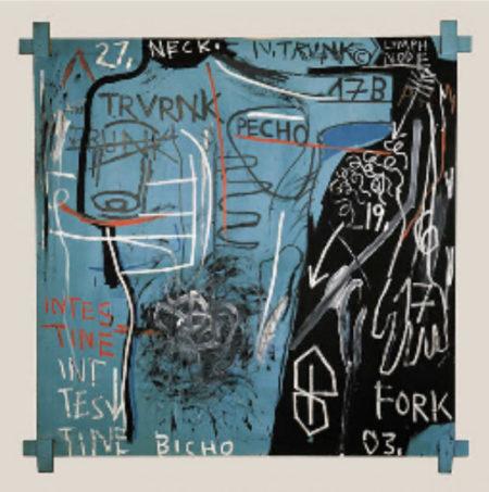 Jean-Michel Basquiat-Trunk-1982