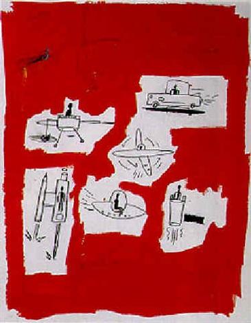 Jean-Michel Basquiat-Ufos-1984