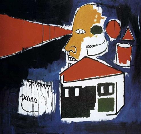 Jean-Michel Basquiat-Ultraviolet-1984