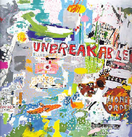 Jean-Michel Basquiat-Unbreakable-1987