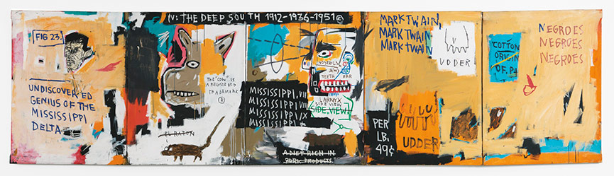 Jean-Michel Basquiat-Undiscovered Genius of the Mississippi Delta-1983