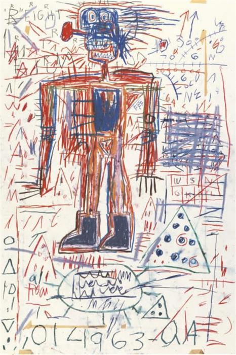Jean-Michel Basquiat-Untitled (014963 - QA)-1982