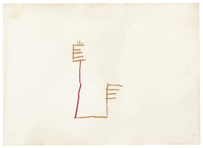 Jean-Michel Basquiat-Untitled-1981