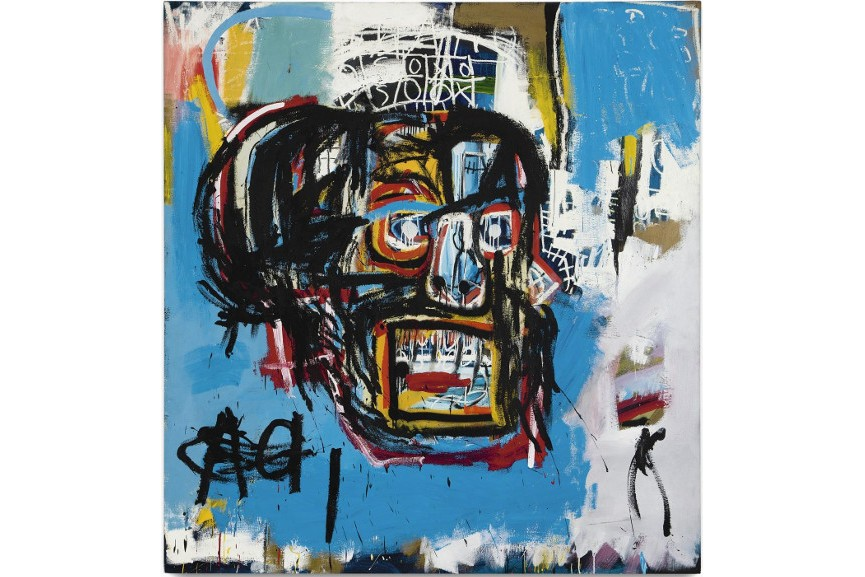 Jean-Michel Basquiat - Untitled, 1982, sale business million