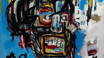 Jean Michel-Basquiat - Untitled, 1982. Courtesy of Sotheby's New York