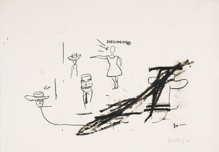 Jean-Michel Basquiat-Untitled-1984