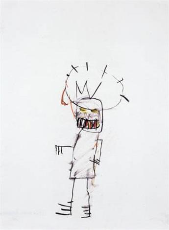 Jean-Michel Basquiat-Untitled (400-266)-1982