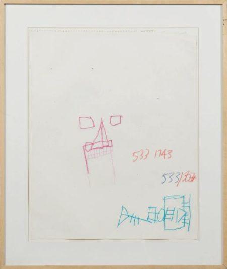 Jean-Michel Basquiat-Untitled (533 1743)-1981