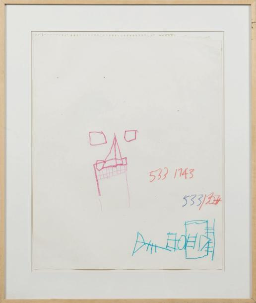 Jean-Michel Basquiat-Untitled (533 1743)-1981