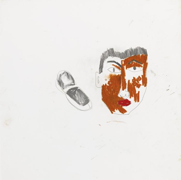 Jean-Michel Basquiat-Untitled Aka Portrait Of Pierre-1983