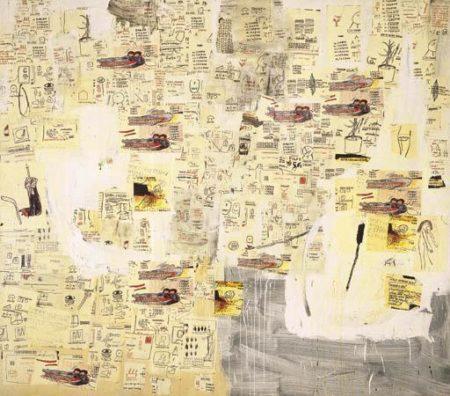 Jean-Michel Basquiat-Untitled (Aligators)-1985